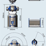 FARO Laser Tracker ION габариты