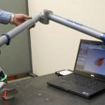 Использование FARO Edge Arm с лазерной насадкой