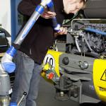 FARO Prime Arm в работе (автомобилестроение)