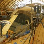3D сканирование яхт с помощью FARO Focus3D в кораблестроении