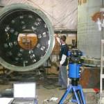 Использование лазерного трекера FARO Laser Tracker в измерениях крупногабаритного оборудования