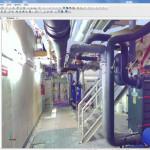Пример облака точек помещения завода полученного с помощью FARO Focus3D