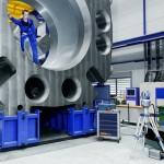 FARO Laser Tracker Vantage измерение больших изделий