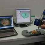 Пример сканирования детали с помощью FARO Edge Arm и лазерной насадки Laser Line Probe